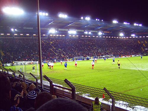 Bielefelder Alm, ungern auch: Schüco Arena
